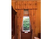 BEAUTIFUL CURTAINS - excellent condition, incl blinds from no smoking home