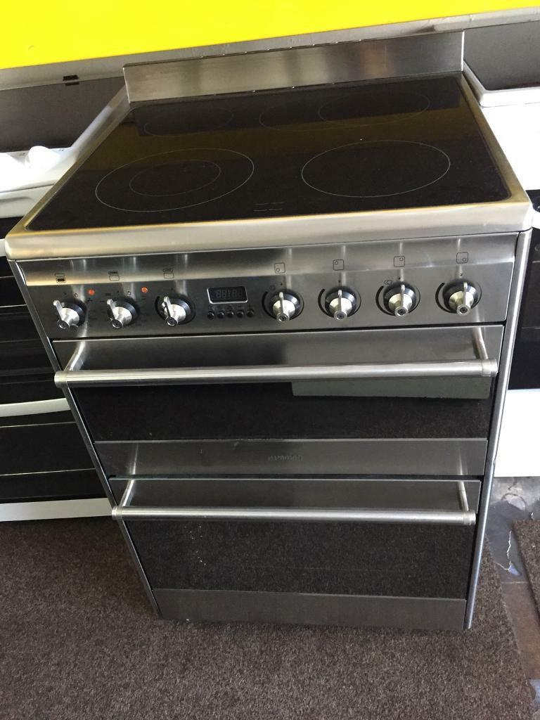 Smeg Stainless Steel Good Looking 60cm Electric Cooker With Oven Freestanding Stove Winning Grill