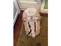 Hauck adjustable baby bouncer chair