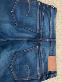 Gstar mens 34/32 jeans