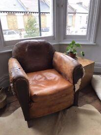 Art Deco French Club Chair