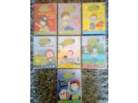 Horrid Henry Dvds x7