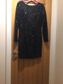 Warehouse Sequin Dress