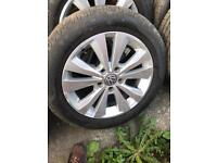 VW GOLF ALLOYS WHEELS AND TYRES