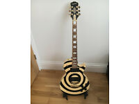Zakk Wylde Epiphone Les Paul Custom Guitar! In excellent condition. New strings recently added.
