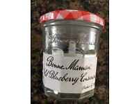Genuine Bonne Maman glass jars 370g