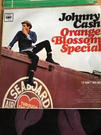 Vinyl LP: Johnny Cash, Orange Blossom Special