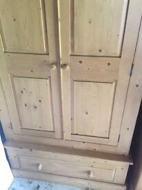 Solid wooden wardrobe for sale