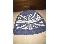Ben sherman Beanie Hat Light blue