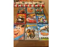 9 Children's DVD's (one sealed) all others in fab condition.