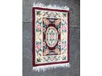 Lovely quality small rug FREE DELIVERY PLYMOUTH AREA