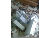 WII NINTENDO -WORKING CONSOLE INC CONTROLLERS ,NUNCHUCKS,FIT BOARD, ALL CABLES, GOOD WORKING ORDER