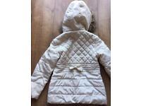 Girls winter coat age 7-8 years