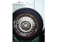 ContiEcoContact 3 tyre with steel rim