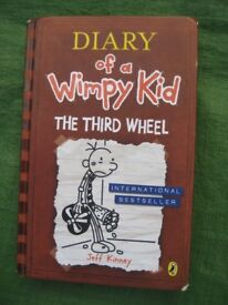 Diary of a Wimpy Kid The Third Wheel Hardback Book by Jeff Kinney for £5.00