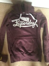 Small Superdry hoodie
