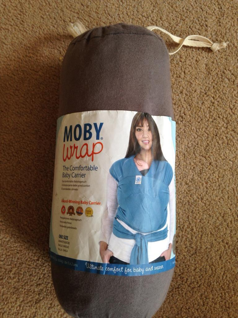 Moby Fabric Cloth Wrap Baby Carrier In Norwich Norfolk Gumtree