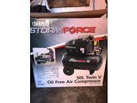 Draper storm force air compressor £200