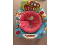 Activity station-excellent condition,seat turns around,all lights/sounds work