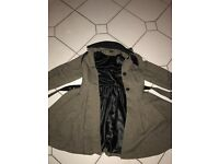 Topshop coat women's siz e10 uk