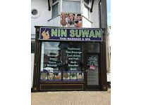 NinSuWan Thai Massage newly refurbished