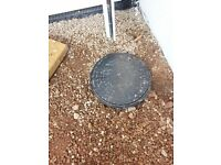 2 Large inspection covers (round)