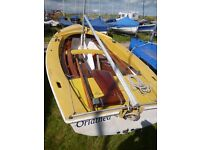 Wayfarer sailing dinghy - great condition - lots of extras
