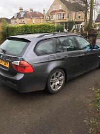 BMW 320 d m sport touring REDUCED FOR QUICK SALE!! £2750. SOLD!!