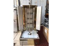 BRAND NEW 4 BURNER CANMAC GOLDEN STYLE DONER MACHINE NATURAL GAS/LPG