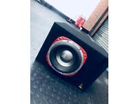 "Orion hcca 10"" bass box - original Orion box"
