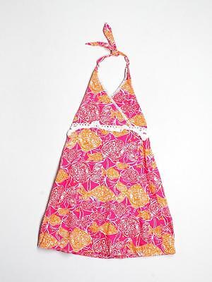 Girl Lilly Pulitzer Jubilee Catherine Bell Beverly Hills Bubbly Halter Dress 3T