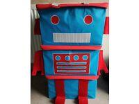Used Robot toy storage boxes. £2 ono