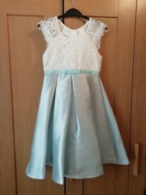 Girls wedding dress age 8