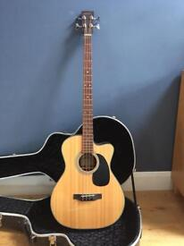 Sigma BMC-1STE Acoustic Bass with hard case