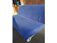 IKEA PS LOVAS sofa bed, blue cover, excellent condition, CAN DELIVER