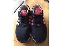 Adidas ZX FLUX UK SIZE 6 (BLACK AND PINK)