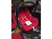 Maxi-cosi car seat & ISOfix