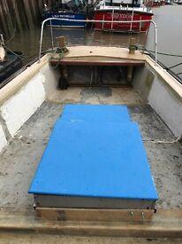 24ft grp diesel fishing boat