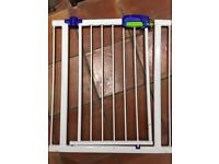 Stair gates x 2 (1 x Lindam)