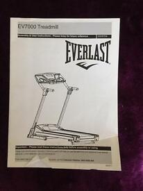 Everlast EV700 treadmill