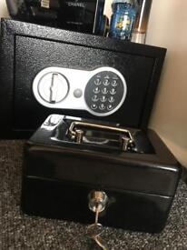 Safe and cash box