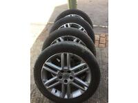 Vauxhall alloy wheels and tyres 205/50/17