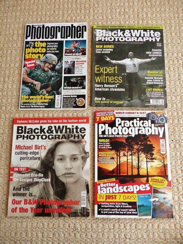4 photography magazines 2 black white photography 1 practical