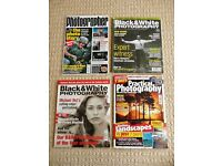 4 Photography Magazines 2 Black & White Photography 1 Practical Photography 1 Amateur Photographer