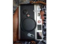 Leica M6 Chrome film rangefinder body only