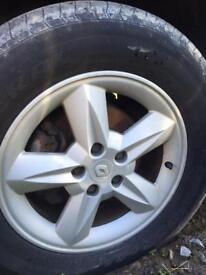 "Renault Espace/scenic 16"" alloy wheels"
