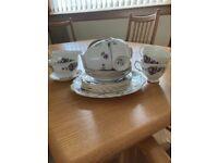 1950 Royal Vale bone China tea set