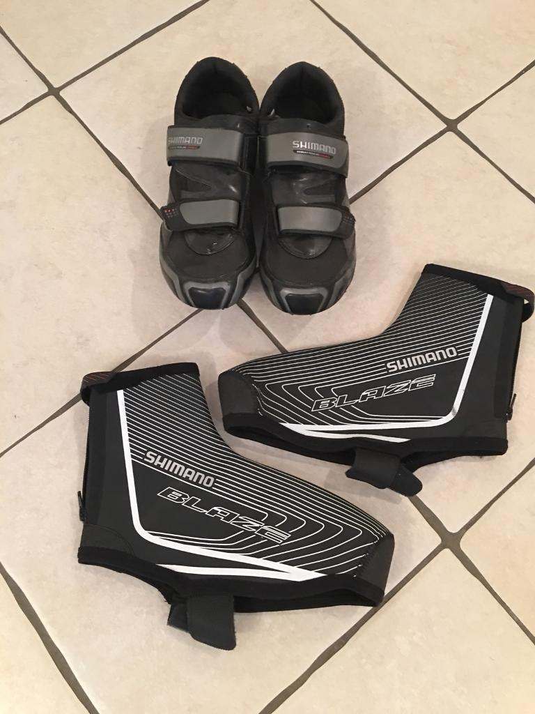 Shimano Cycling shoes including overshoes