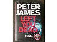 Peter James Left You Dead Book