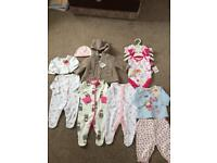 Brand new bundle up to 1 month old